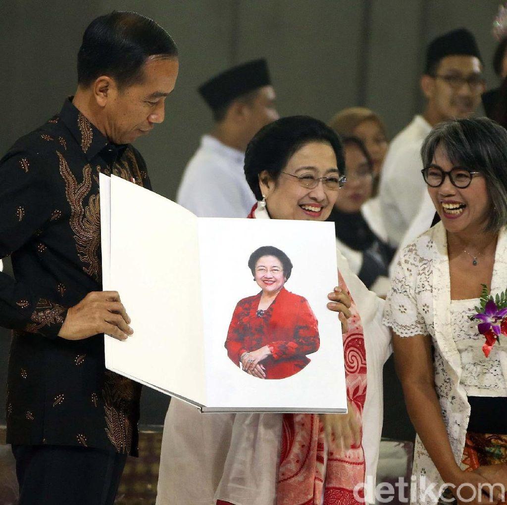 """The Brave Lady"" untuk Jokowi-JK di Ultah Megawati"