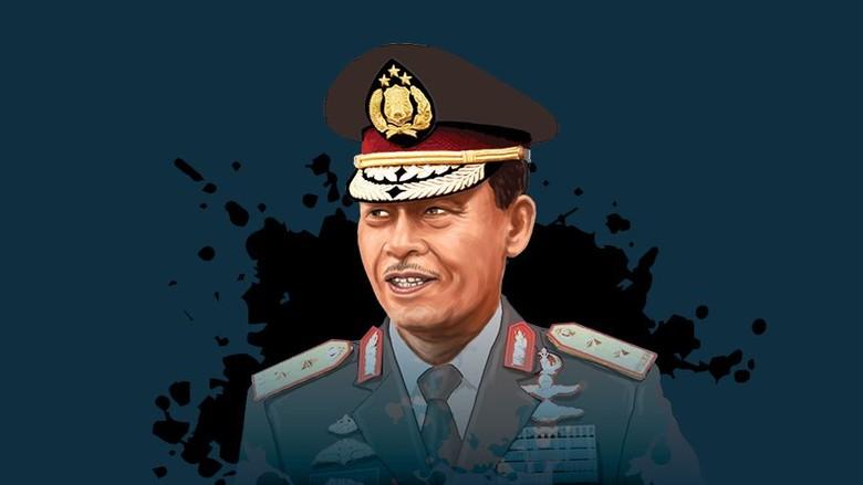 Komjen Idham Azis Calon Kapolri, Surat Presiden Sudah Diterima DPR