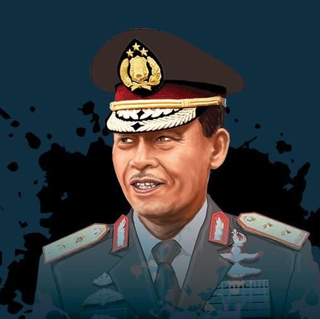 Komjen Idham Aziz Calon Kapolri, Surat Presiden Sudah Diterima DPR