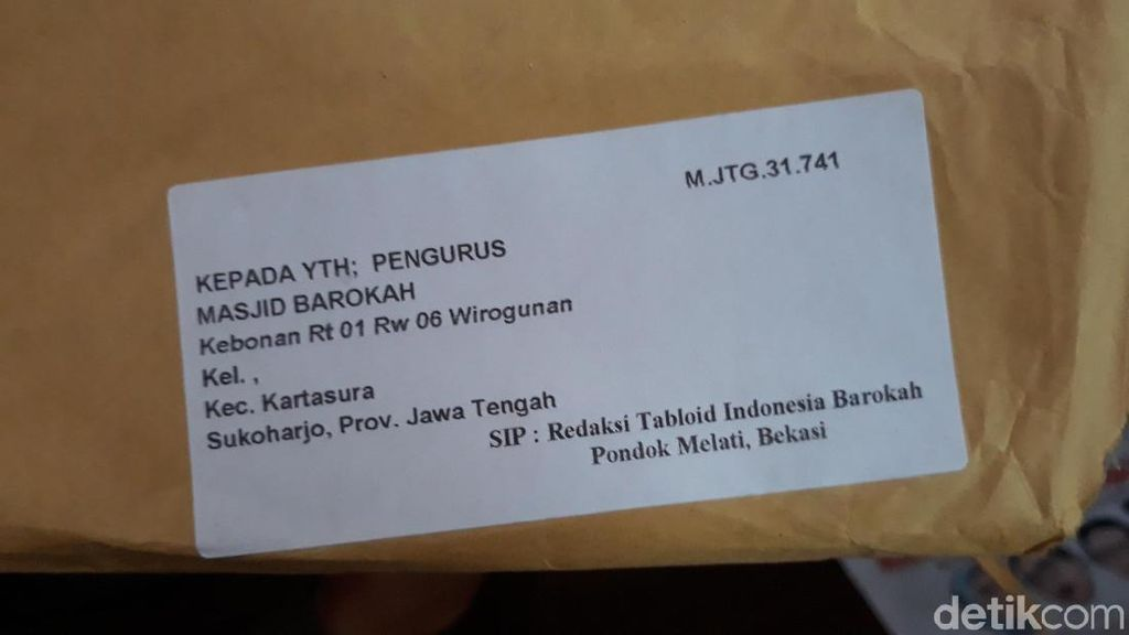 Di Sukoharjo, Indonesia Barokah Langsung Dibakar oleh Takmir