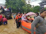 Diterjang Banjir Besar, Maros Sulsel Lumpuh Total
