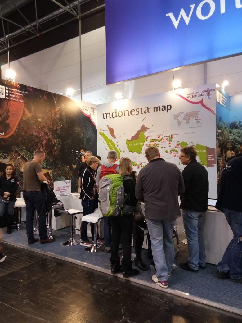 Promosi Wisata Bahari Indonesia di Boot Messe Duesseldorf Jerman