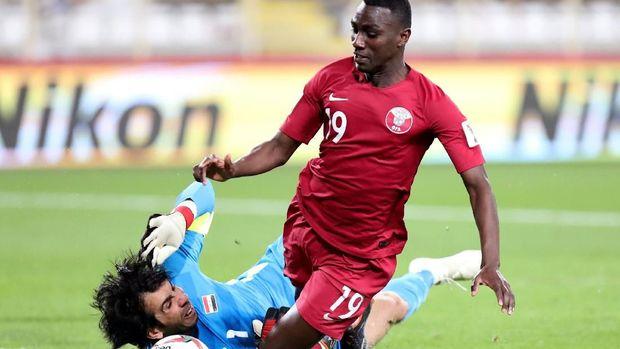 Qatar melaju ke babak perempat final Piala Asia 2019 usai megalahkan Irak 1-0. (