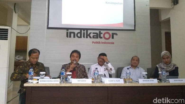 Indikator: 43% Pemilih PPP Pilih Prabowo, 40,5% Pemilih PD Dukung Jokowi
