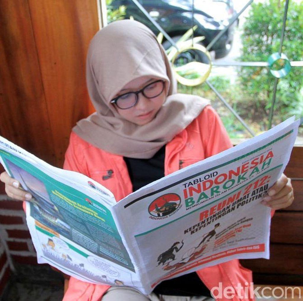 Penampakan Tabloid Indonesia Barokah yang Tersebar di Jabar