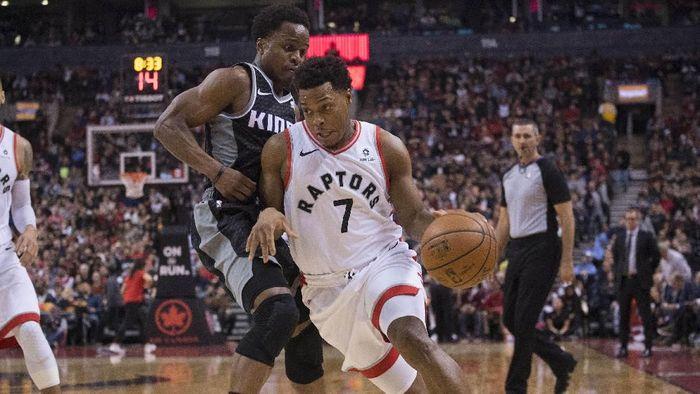 Toronto Raptors kalahkan Sacramento Kings (Nick Turchiaro-USA TODAY Sports)