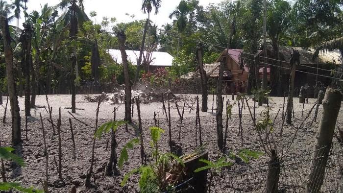 Lokasi semburan lumpur bercampur gas di Aceh Utara (Datuk/detikcom)