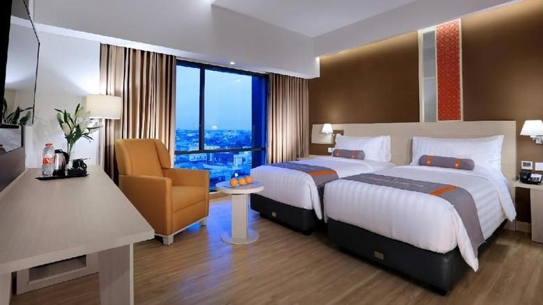 Salah satu kamar Hotel Harper Palembang (Harper Palembang)