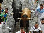 Arab Saudi Berencana Gelar Festival Lari Dikejar Banteng Ala Spanyol