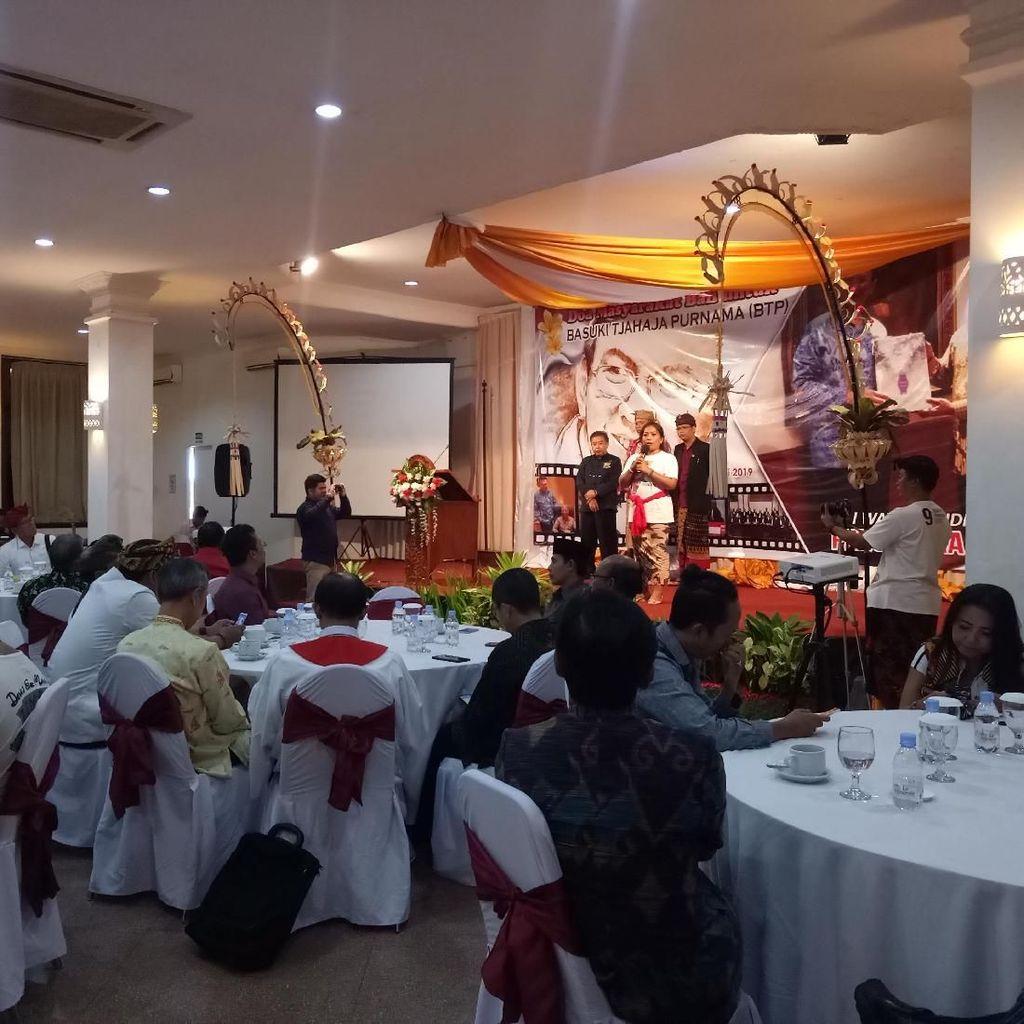Ahok Bebas, Relawan Gelar Doa Lintas Agama di Bali