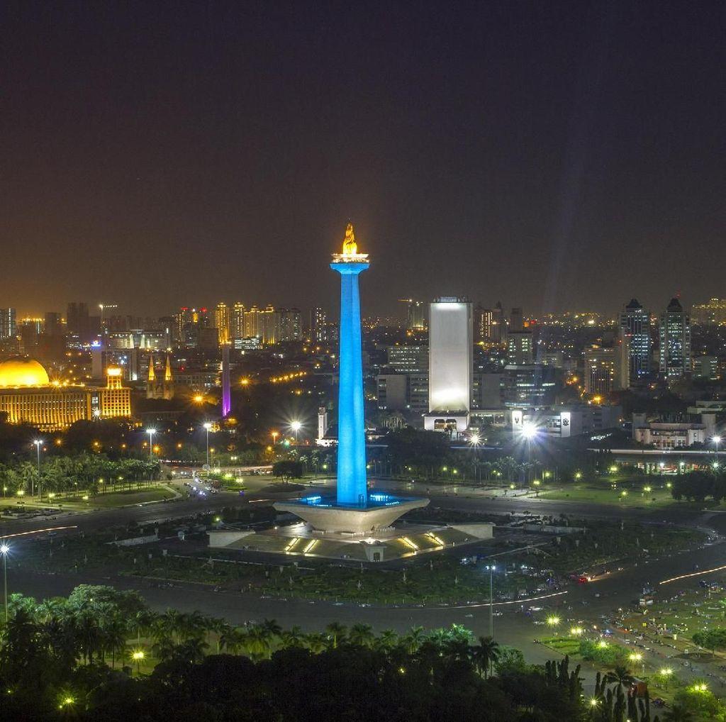 Gemerlapnya Jakarta dalam Bidikan Si Jagoan Foto Malam