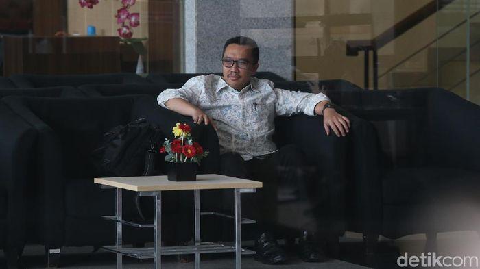 Menpora Imam Nahrawi kaget atlet angkat besi Indonesia tersangkut kasus doping (Ari Saputra/detikSport)