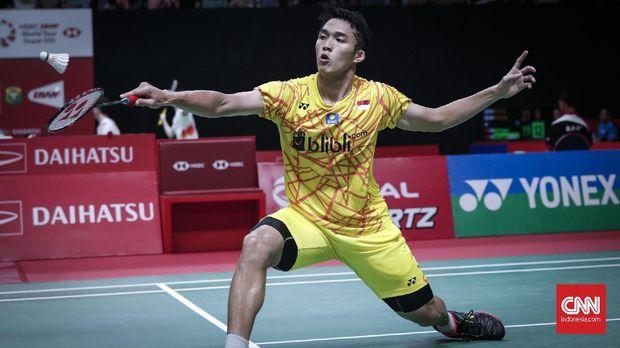 Jonatan Christie Gagal ke Final Malaysia Terbuka 2019