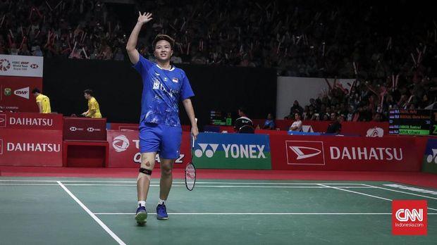 Indonesia Masters 2019 menjadi gelar terakhir Liliyana Natsir yang memutuskan pensiun.