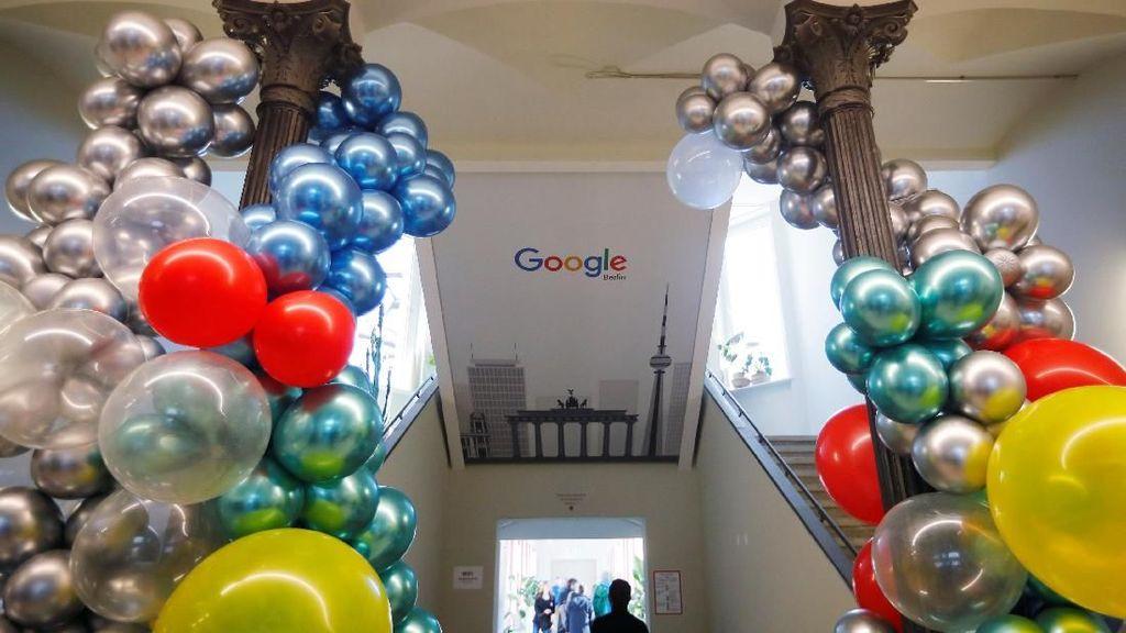 Mengintip Kantor Terbaru Google yang Bikin Karyawan Betah