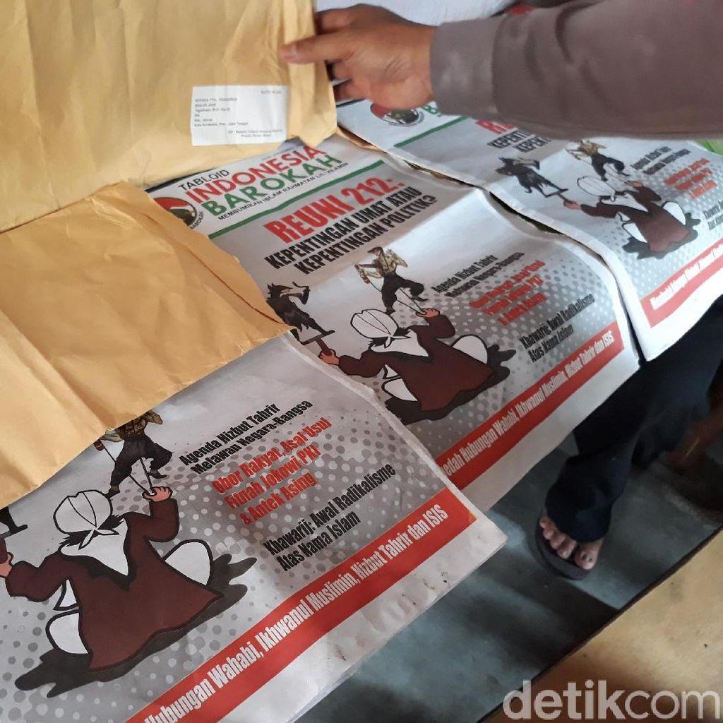 Peredaran Tabloid Indonesia Barokah di Jateng Terus Bertambah