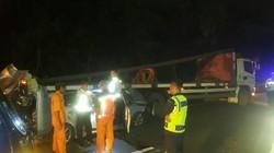 Kecelakaan Truk dan Mobil Sedan di Tol Sedyatmo, Satu Orang Tewas