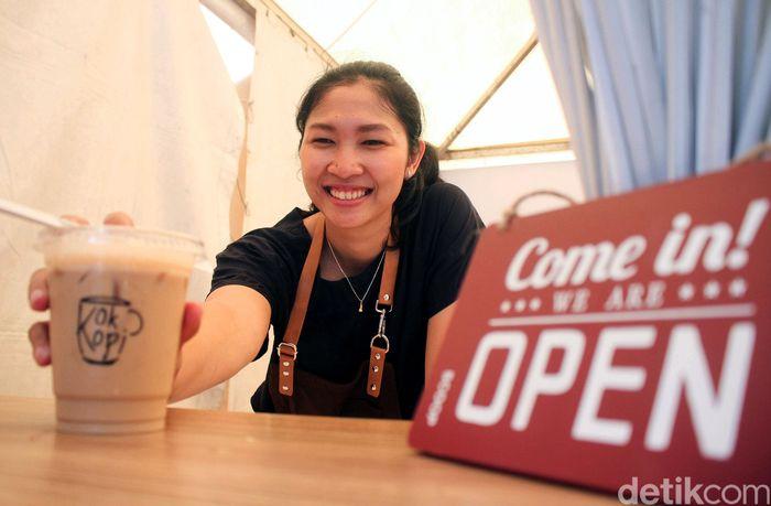 Linda Wenifanetri kembali ke Istora, Senayan. Tak menjadi peserta Indonesia Masters 2019, dia membuka kedai kopi dan menjadi barista.