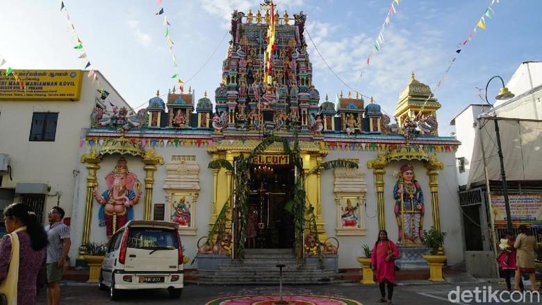 Kuil Hindu di Penang, Malaysia (Syanti/detikTravel)