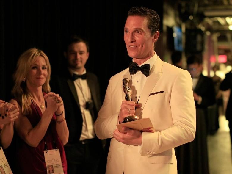 Matthew McConaughey bikin instagram. Foto: Christopher Polk/Getty Images