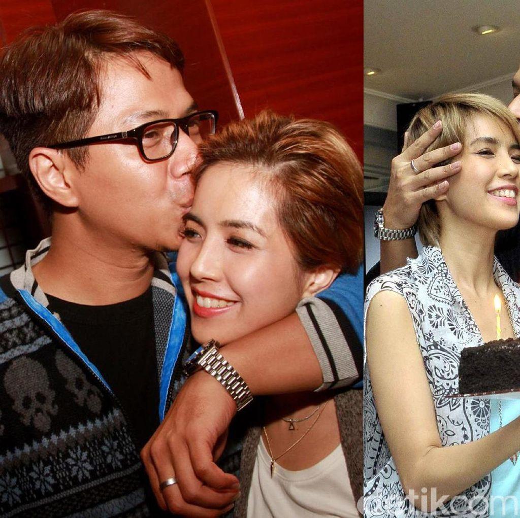 Momen-momen Indah Delon dan Yeslin Wang Sebelum Bercerai