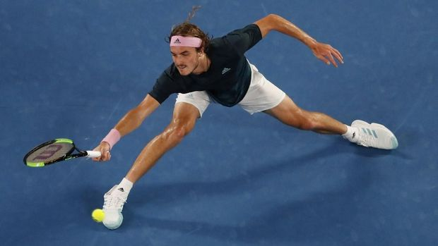 Kejutan Stefano Tsitsipas di Australia Terbuka dihentikan Rafael Nadal di semifinal.