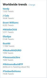 #WelcomeBackBTP Trending Topik.