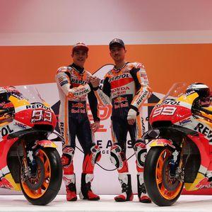 Repsol Honda Perkenalkan Duet Maut Marquez dan Lorenzo
