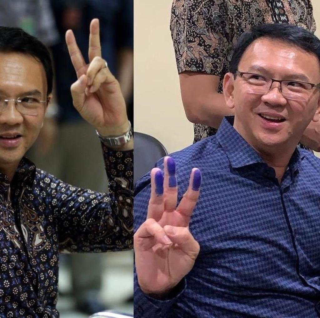 Before-After Ahok Dipenjara