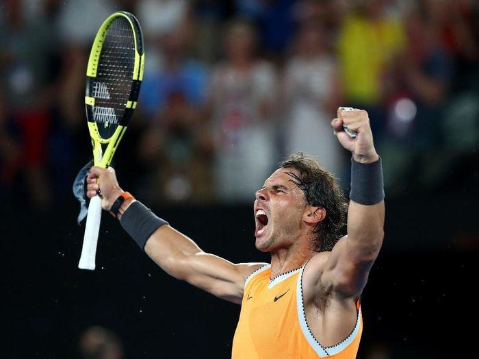 Rafael Nadal maju ke final Australia Terbuka. Foto: Cameron Spencer/Getty Images