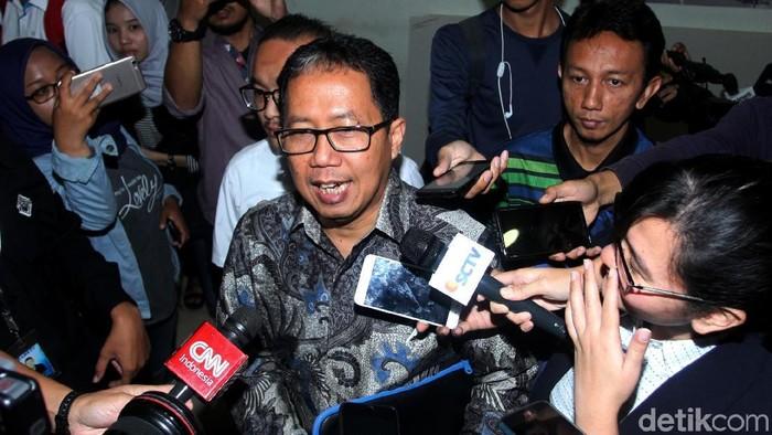 Plt Ketum PSSI Joko Driyono (Lamhot Aritonang/detikcom)