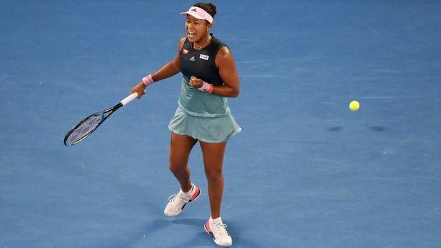 Naomi Osaka untuk kali kedua beruntun lolos ke final Grand Slam.