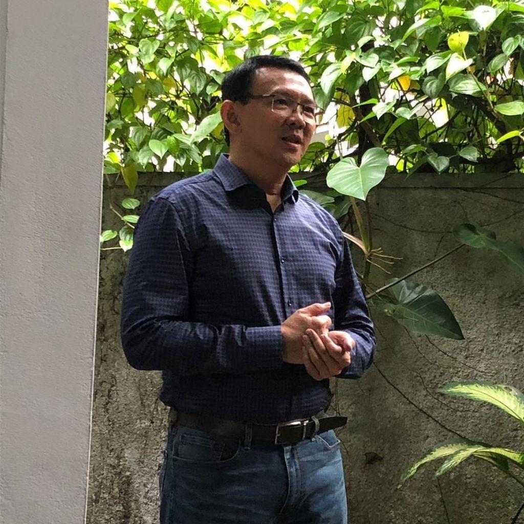 Resmi Bebas, Ahok Syuting Vlog Bareng Anaknya
