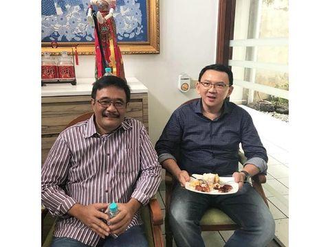 Djarot Saiful Hidayat bersama Basuki Tjahaja Purnama (Ahok)