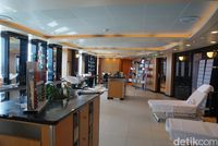 Salon di cruise (Syanti/detikTravel)
