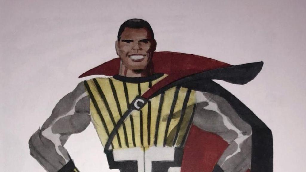 Sketsa Perdana Black Panther dari Tahun 1966 Terungkap!