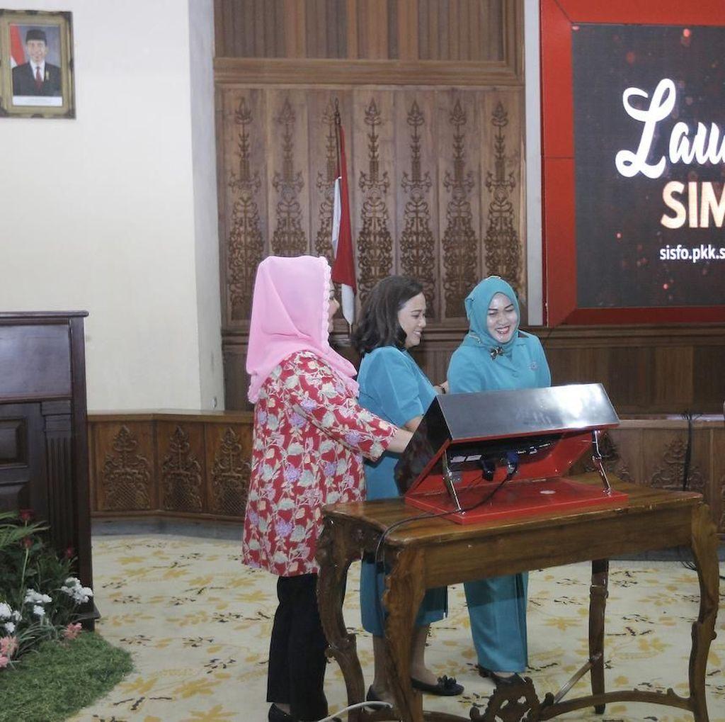 Aplikasi Data Program PKK Semarang Diluncurkan, Ini Fungsinya