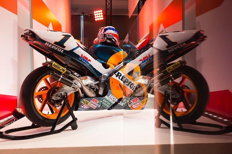 Honda RC213V. Foto: Instagram @hrc_motogp