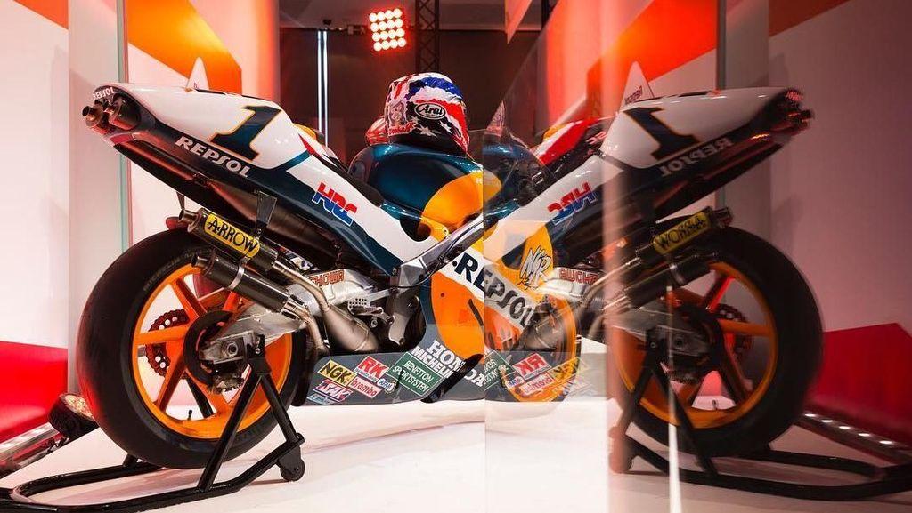 Ducati Tembus 350 Kpj, Bagaimana dengan Motor Honda Marquez?