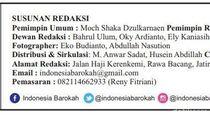 Tercantum di Bekasi, Alamat Tabloid Indonesia Barokah Fiktif