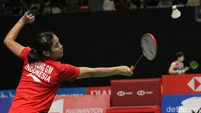 Pemain tunggal putri Indonesia, Gregoria Mariska Tunjung. (Foto: Rifkianto Nugroho/Detikcom)