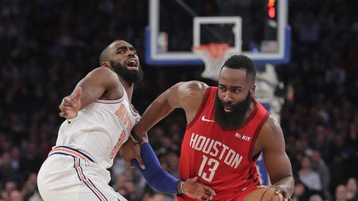 James Harden bikin 61 poin dan Houston Rockets kalahkan New York Knicks (AP Photo/Frank Franklin II)