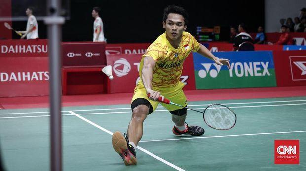 Jonatan Christie Gagal ke Final Indonesia Masters 2019