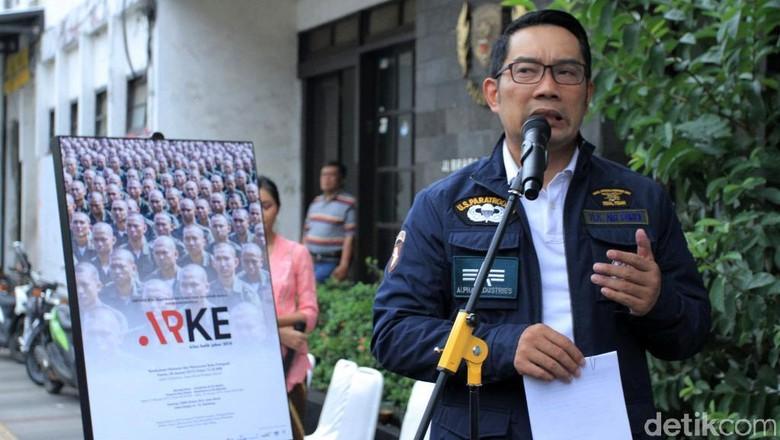 Ridwan Kamil Buka Pameran Foto Kilas Balik Jawa Barat 2018