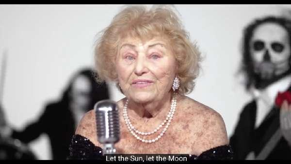 Saat Nenek 96 Tahun Survivor Holocaust Gabung Band Death Metal