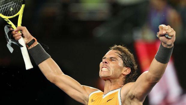 Novak Djokovic unggul dalam rekor pertemuan melawan Rafael Nadal.