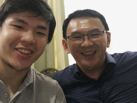 Sean selfie bersama sang ayah