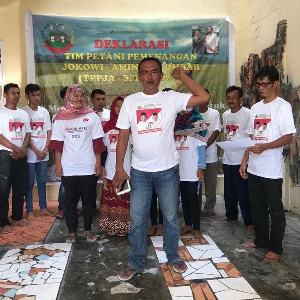Kelompok Tani di Padang Deklarasi Dukung Jokowi-Maruf