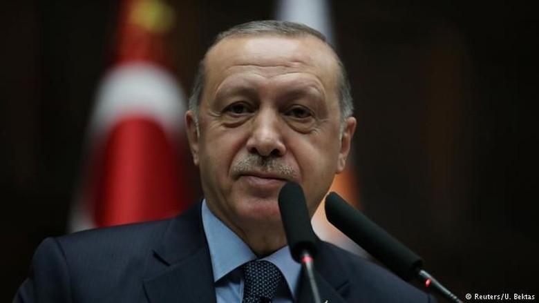 Erdogan: AS Tak Punya Hak Berikan Wilayah Golan ke Israel