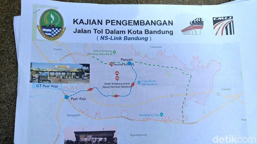 Tak Kunjung Dibangun, Tol Dalam Kota Bandung Tunggu Keputusan Pusat